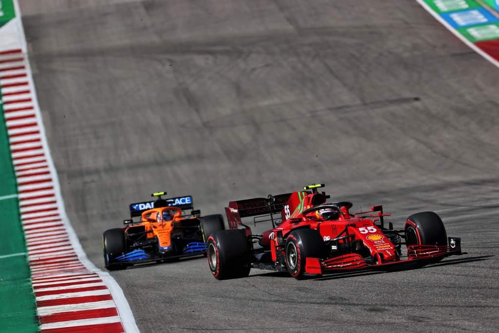 How 'clever' Sainz helped Ferrari deal a heavier blow to McLaren - The Race