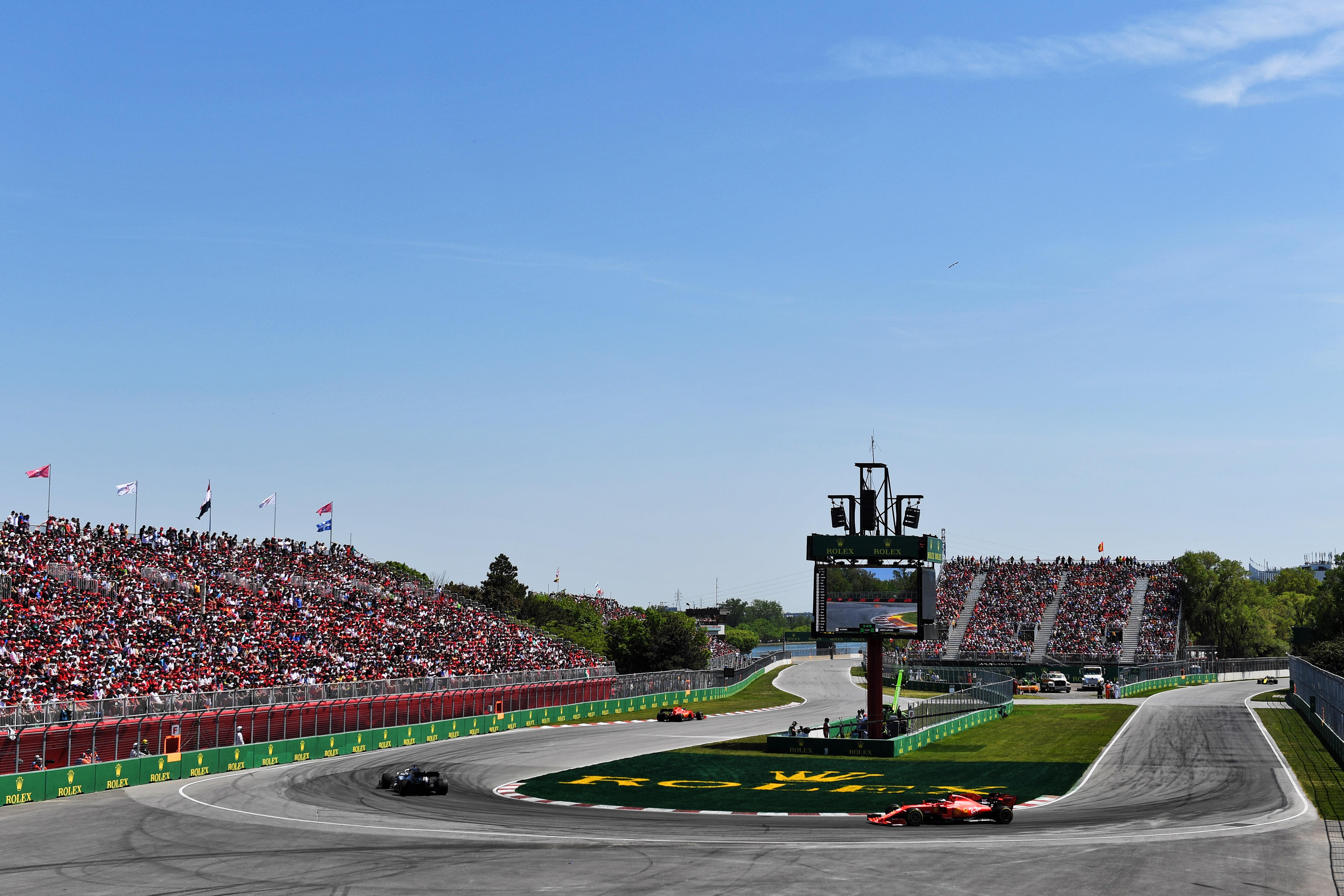 Motor Racing Formula One World Championship Canadian Grand Prix Race Day Montreal, Canada