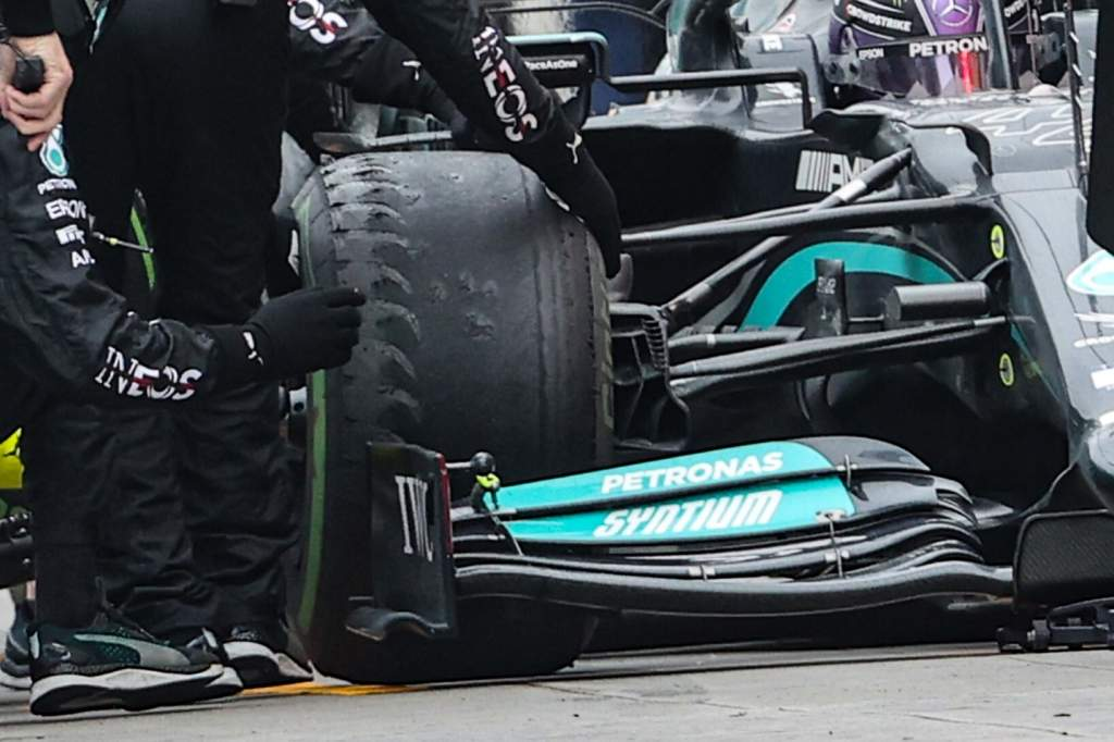 Gary Anderson: The evidence from Hamilton's first set of tyres - The Race