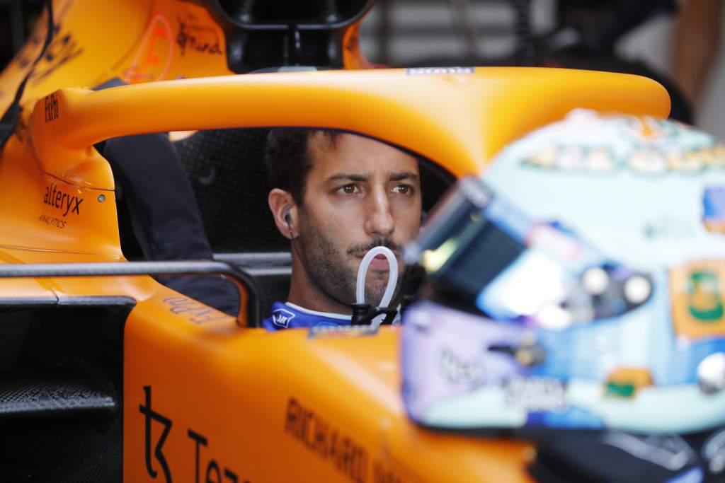 Daniel Ricciardo, Mclaren, In Cockpit