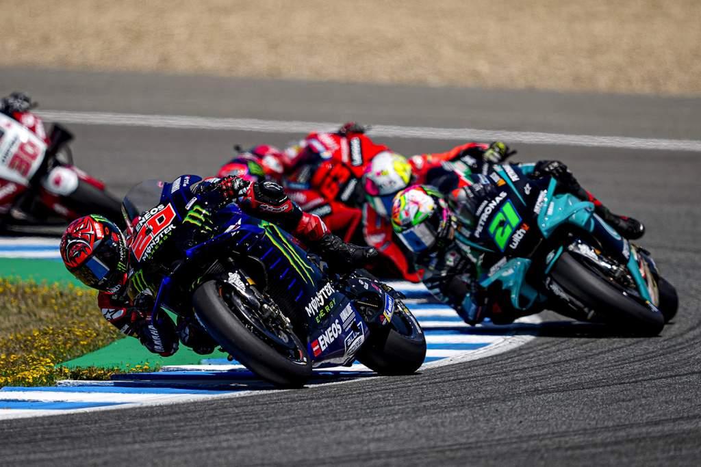 Fabio Quartararo Yamaha Franco Morbidelli Petronas MotoGP