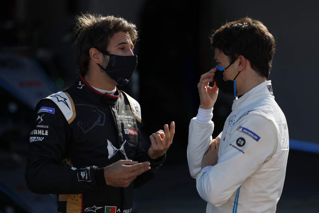 Antonio Felix da Costa DS Techeetah Formula E Nyck de Vries Mercedes