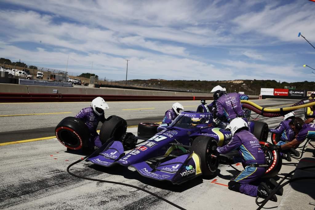 Romain Grosjean Dale Coyne Racing Laguna Seca IndyCar