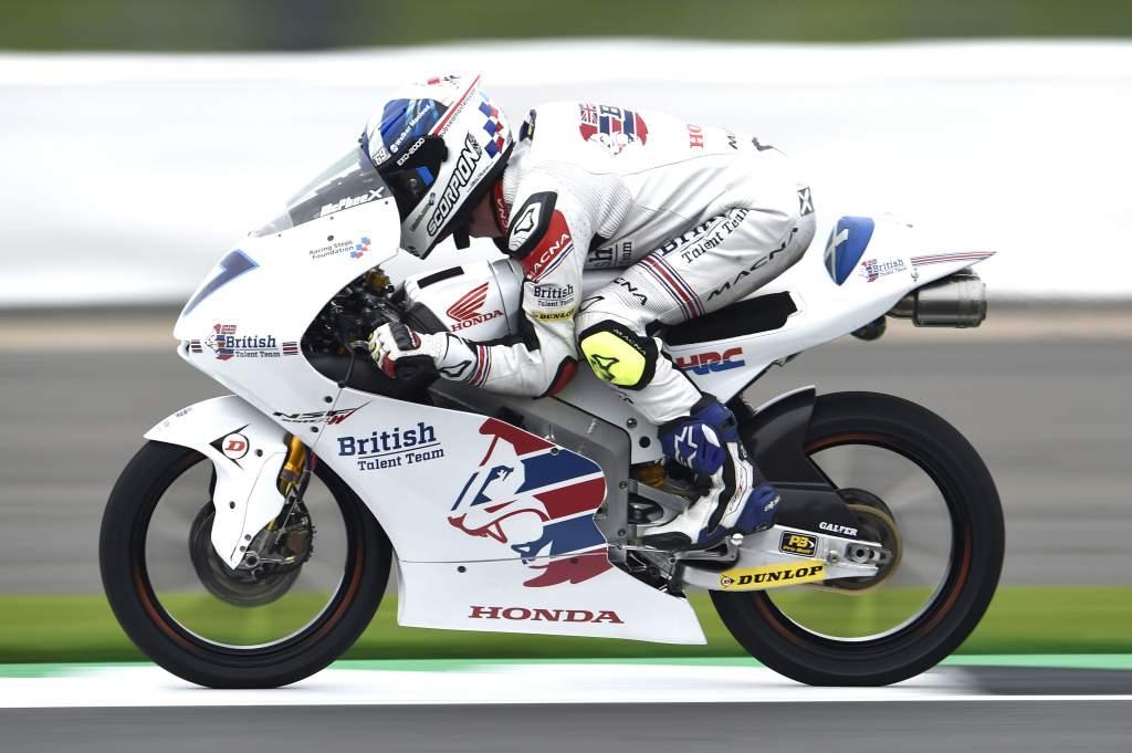 John McPhee British Talent Team Moto3 2017