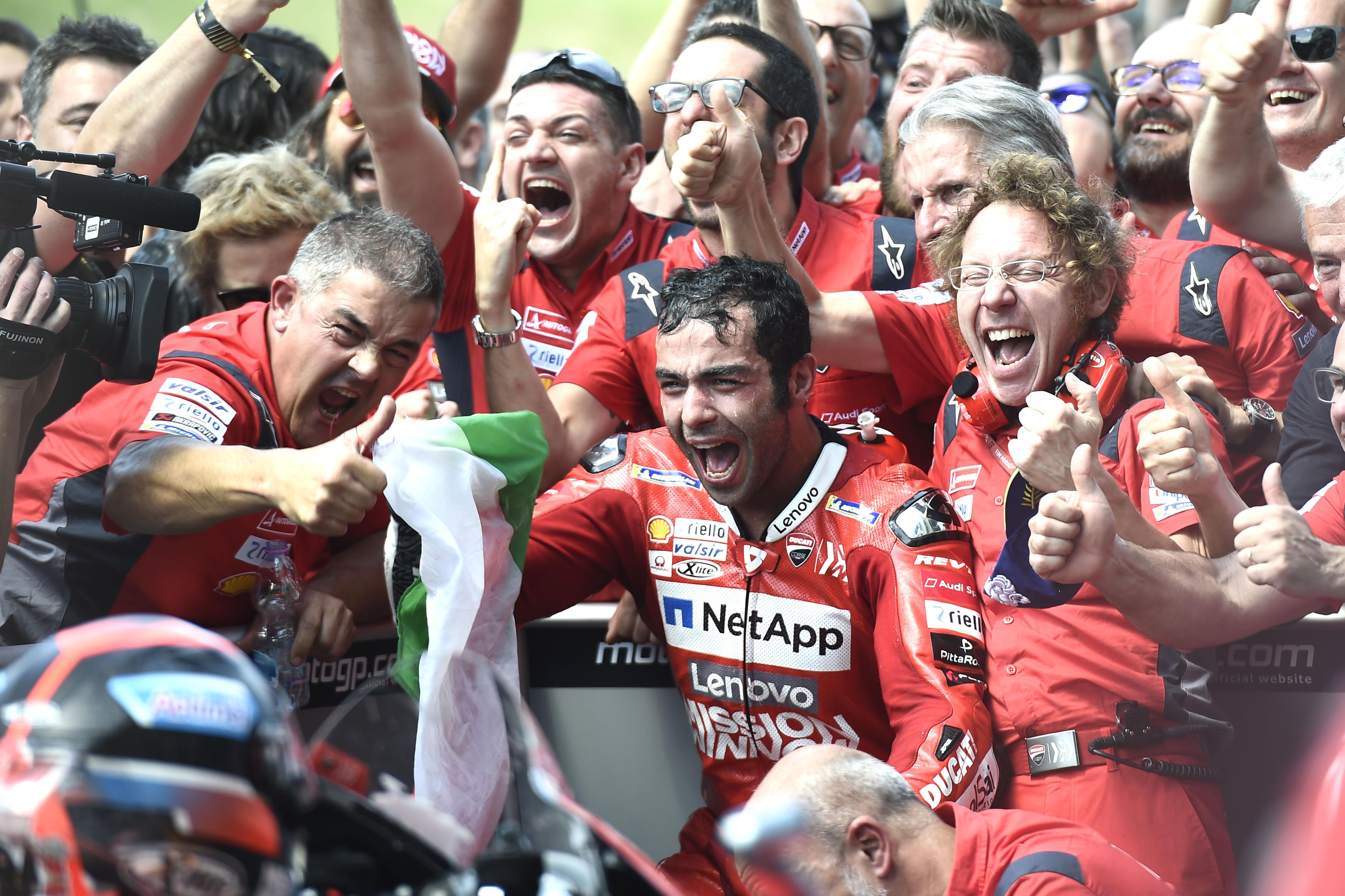 Danilo Petrucci wins Mugello MotoGP 2019