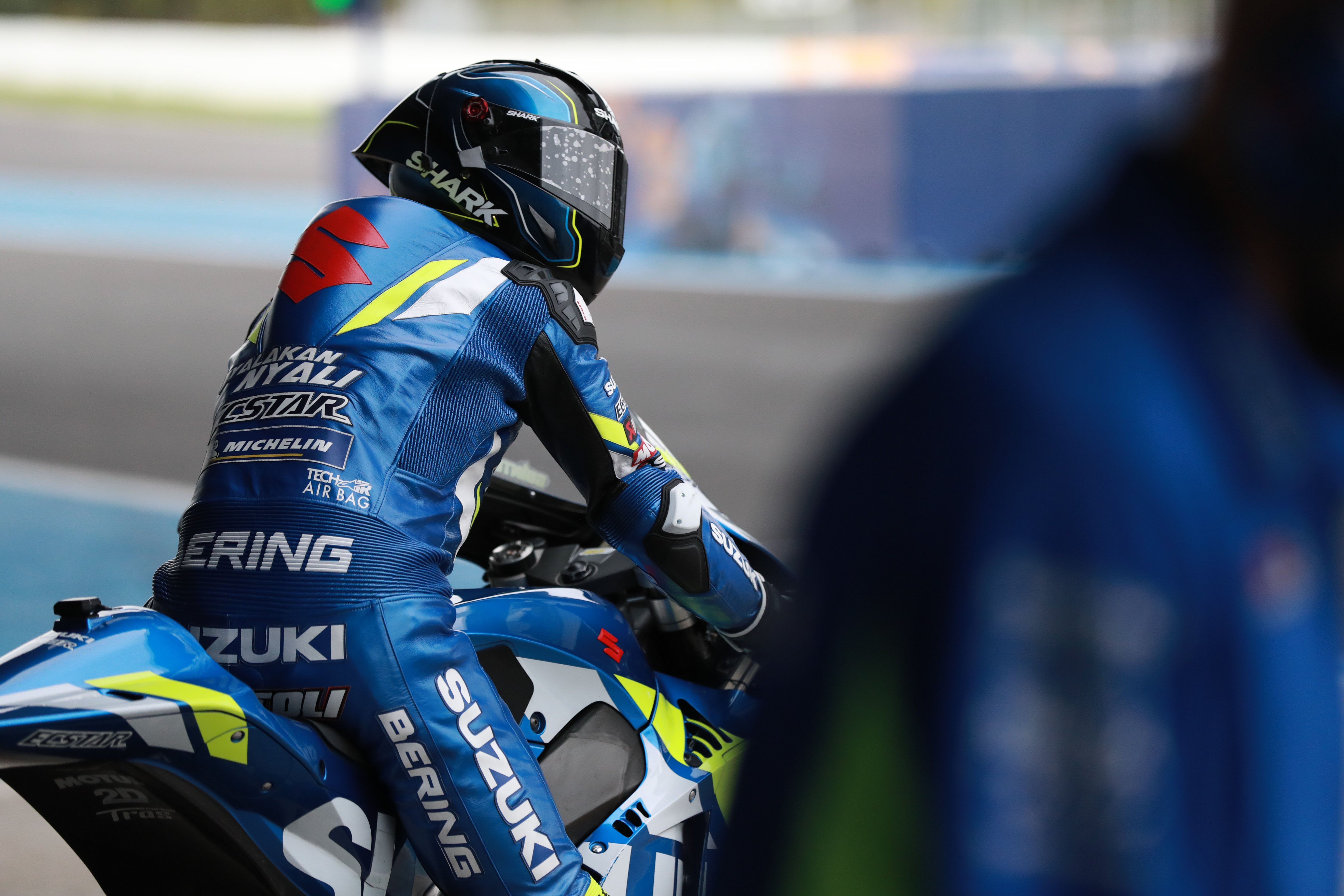 Sylvain Guintoli Suzuki MotoGP test 2020