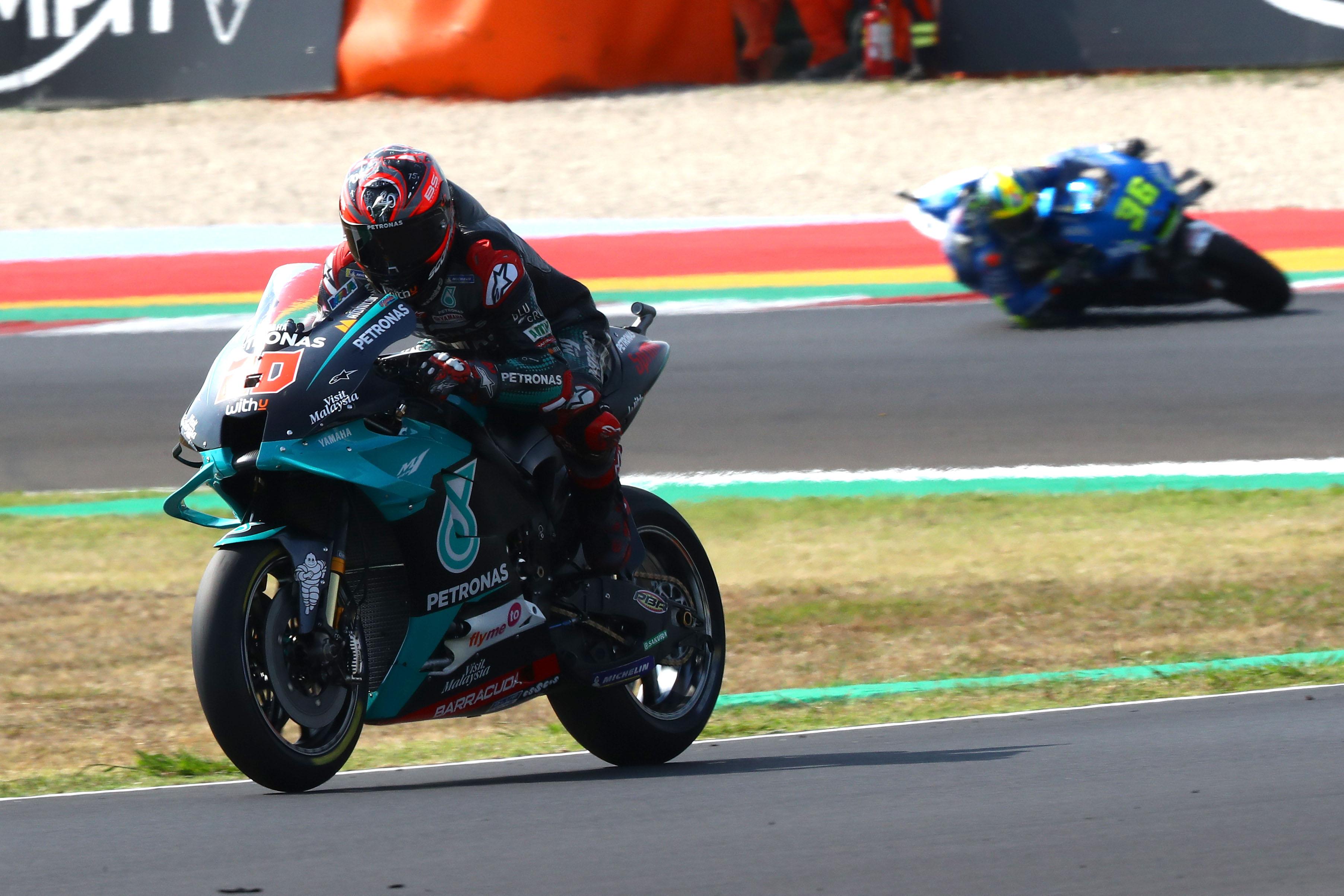 Fabio Quartararo Petronas SRT Yamaha Misano MotoGP 2020