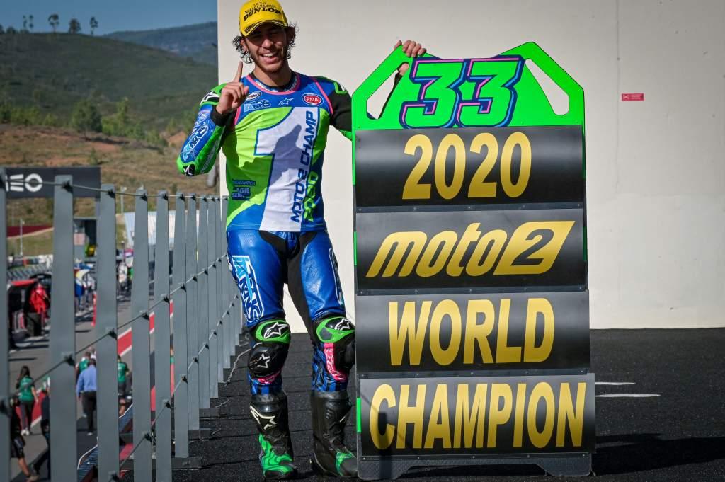 Enea Bastianini Moto2 champion