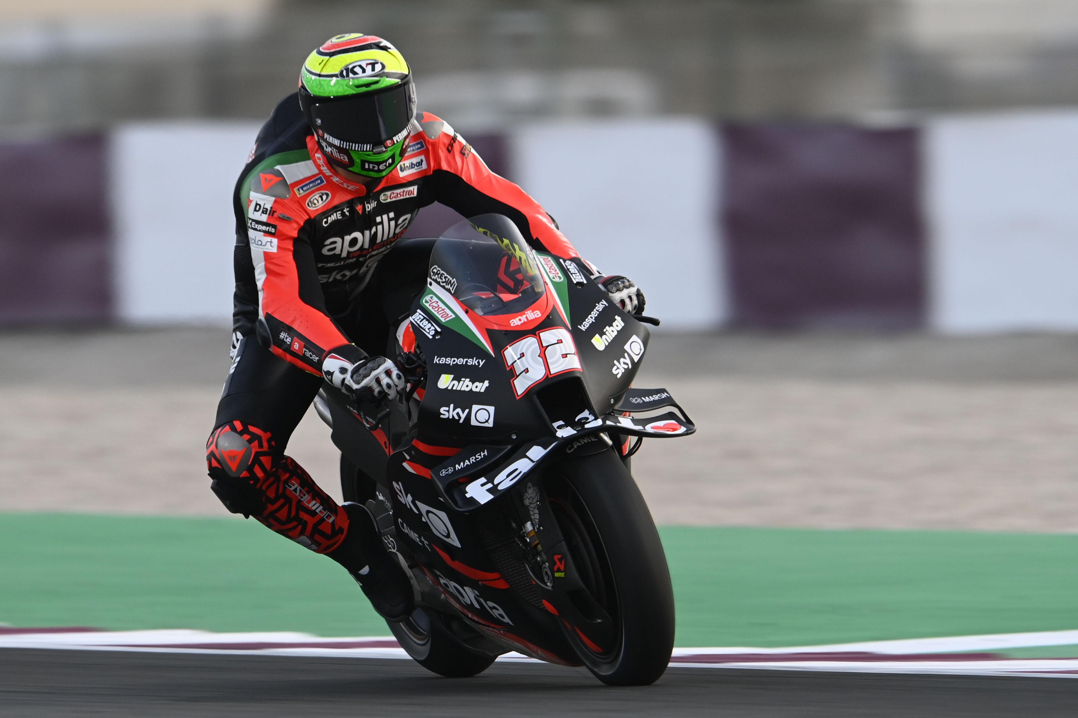 Lorenzo Savadori Aprilia Qatar MotoGP test