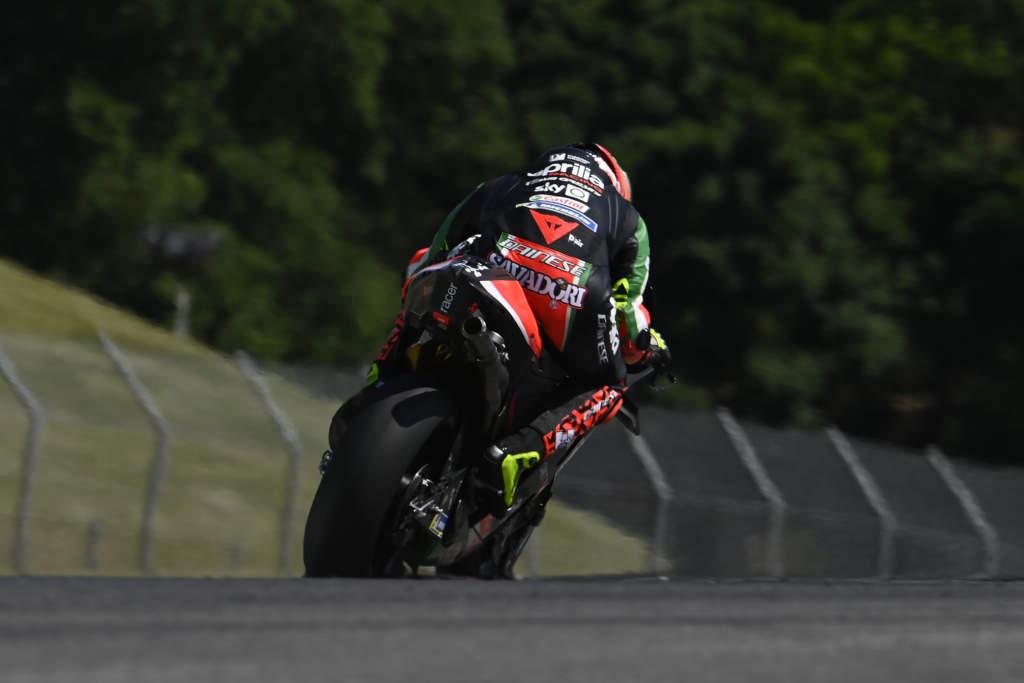 Lorenzo Savadori Aprilia MotoGP Mugello