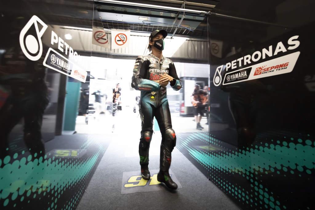 Franco Morbidelli Petronas Yamaha MotoGP Barcelona
