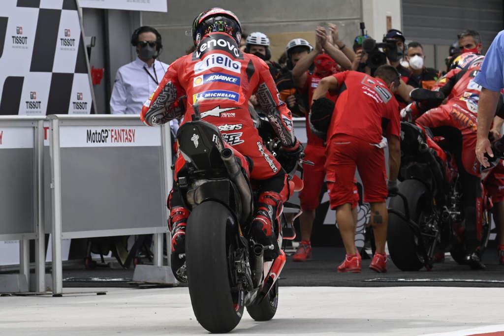 Francesco Bagnaia Ducati Aragon MotoGP 2021