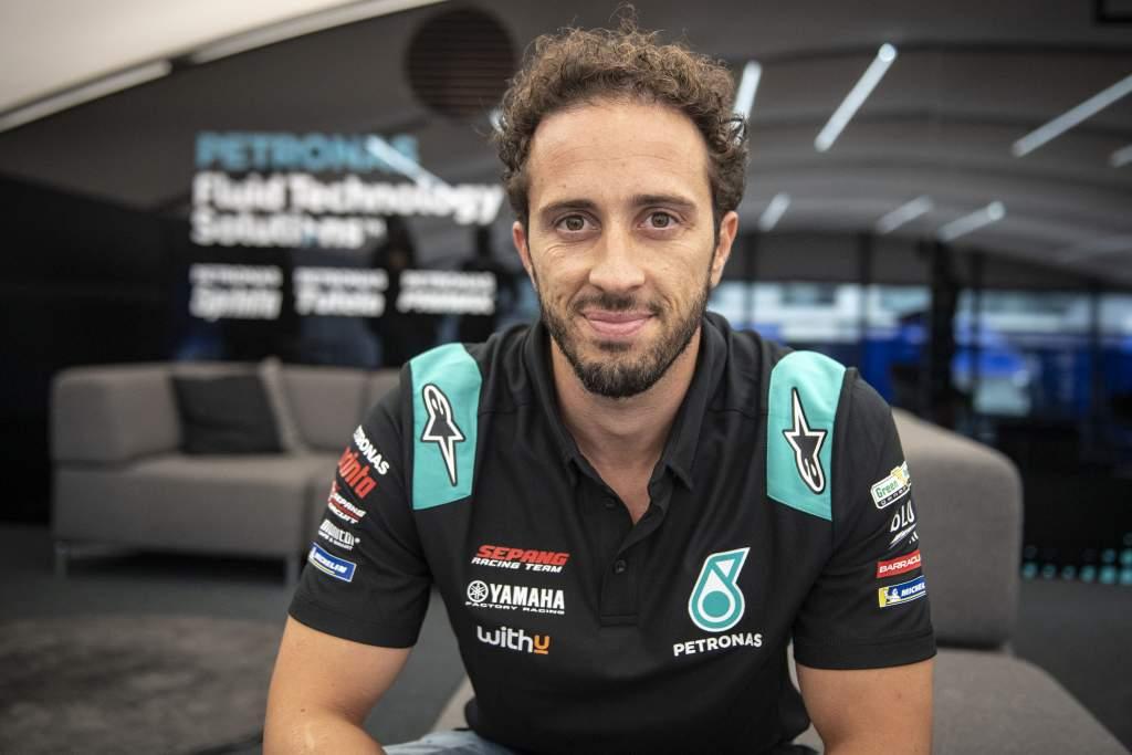 Andrea Dovizioso Petronas Yamaha MotoGP