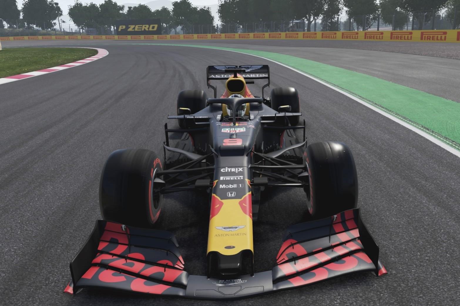 Aguero Red Bull F1
