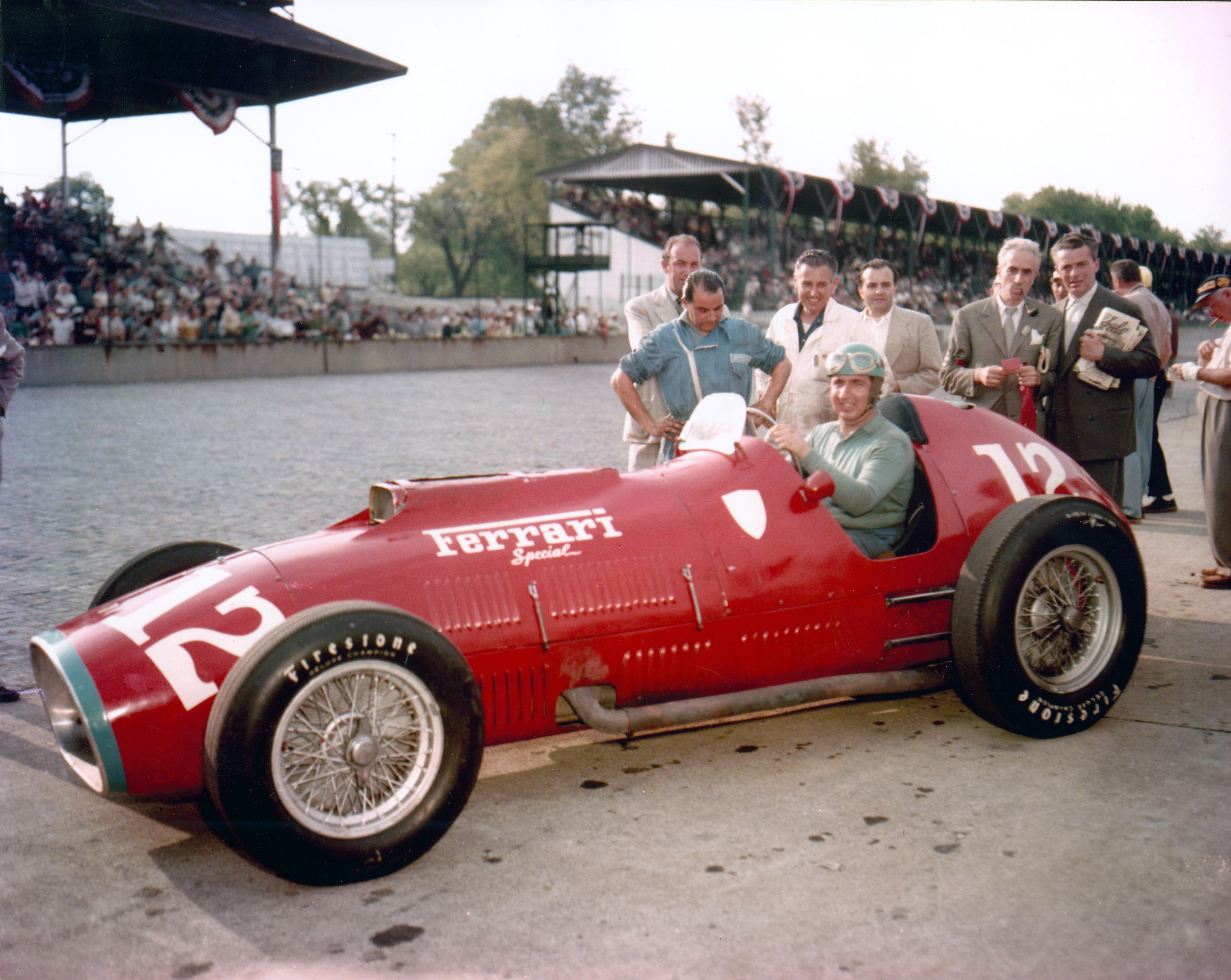 Alberto Ascari Ferrari Indianapolis 500 1952