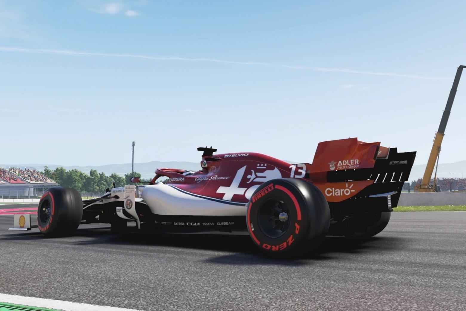 Courtois Alfa Romeo Interlagos