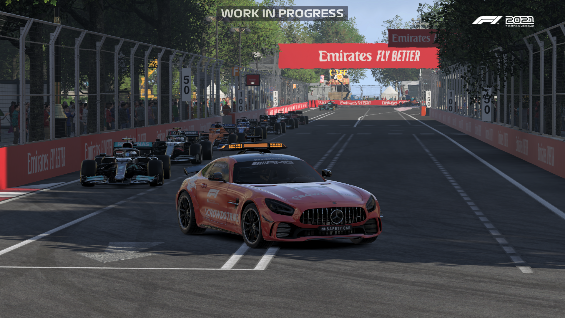 F1 2021 Preview Safety Car Pic 1