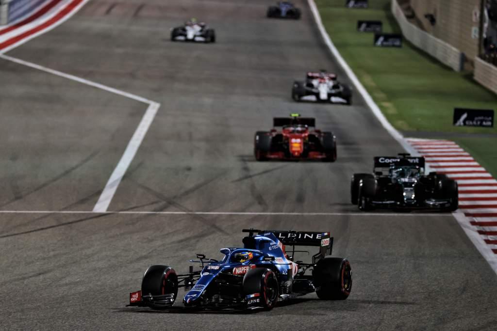 Fernando Alonso Alpine F1 Bahrain GP