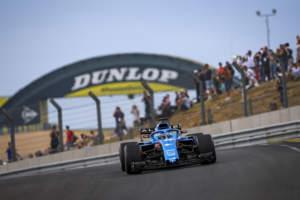 Fernando Alonso Alpine F1 Le Mans