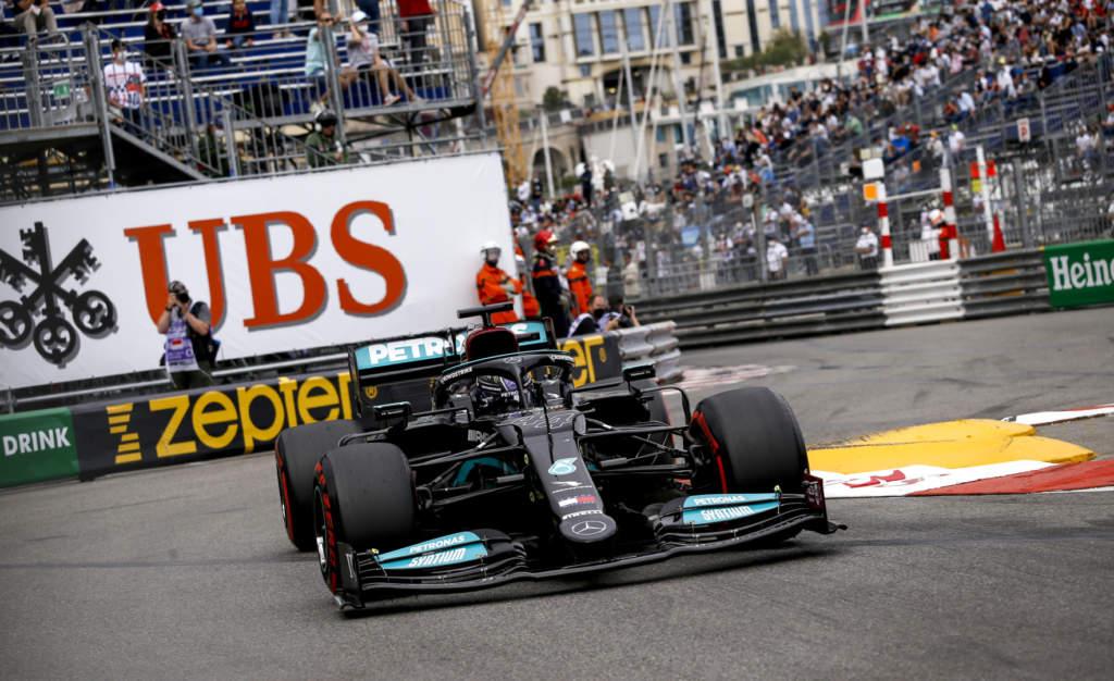 Lewis Hamilton Mercedes F1 Monaco