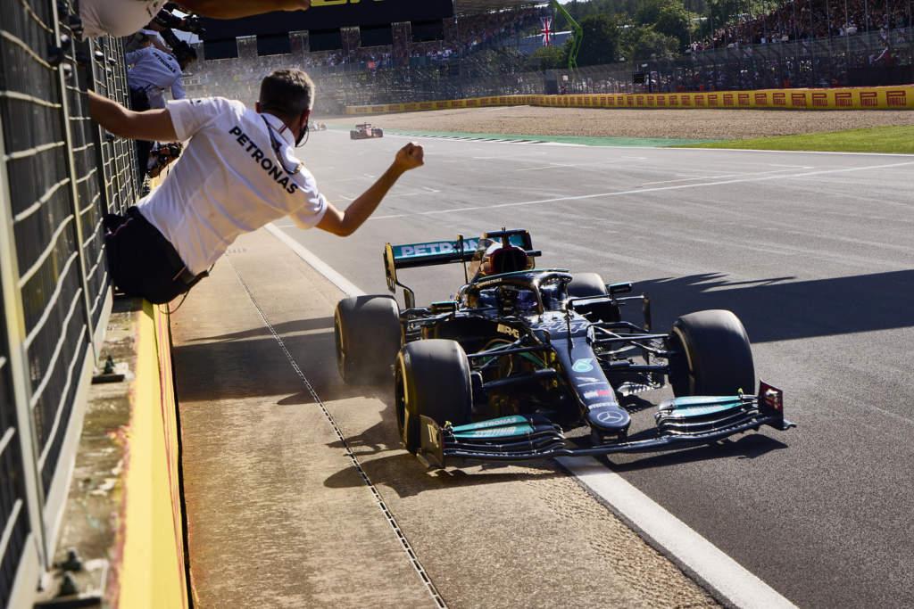 Lewis Hamilton British GP win F1 Mercedes