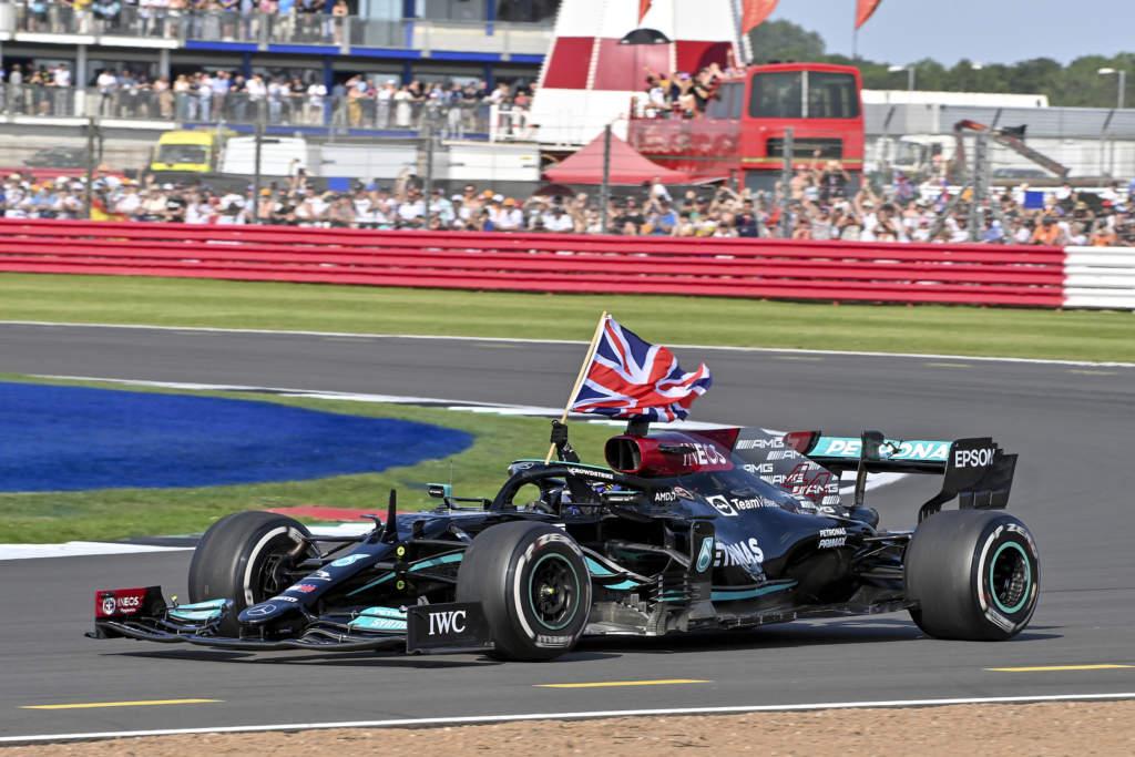 Lewis Hamilton Mercedes British GP F1
