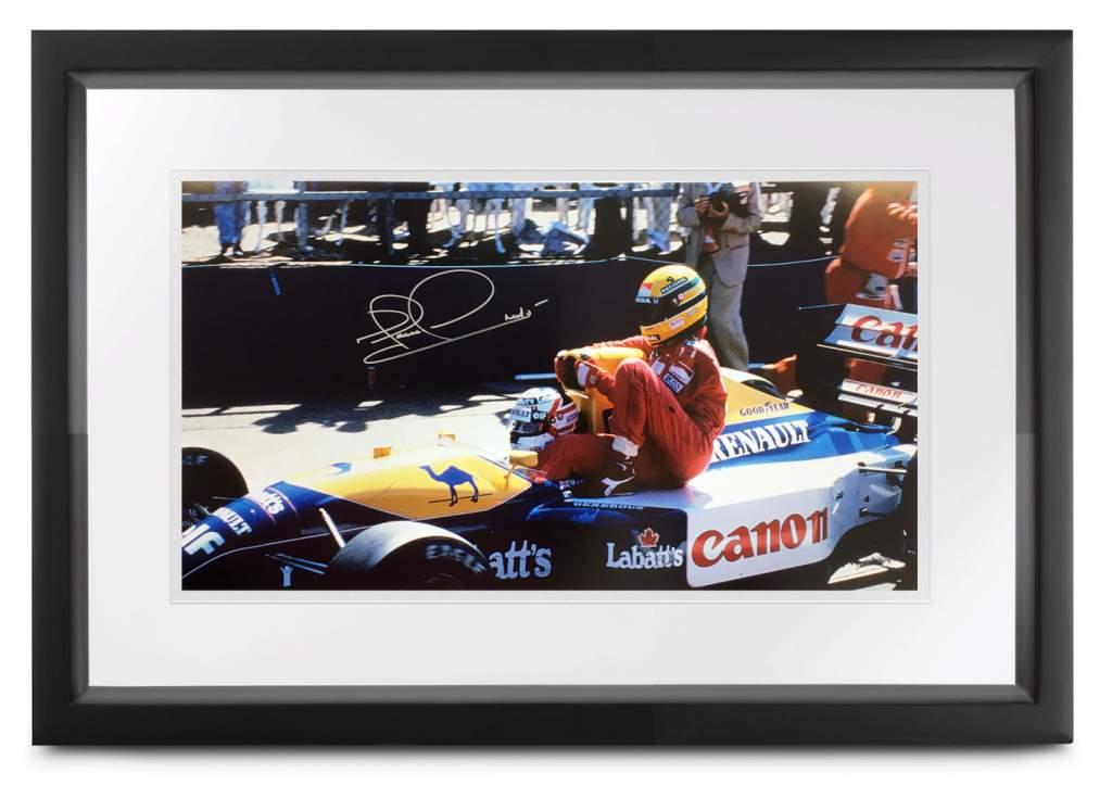 Mansell & Senna Taxi Ride
