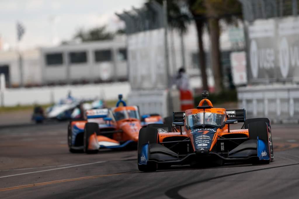 Oliver Askew Scott Dixon IndyCar
