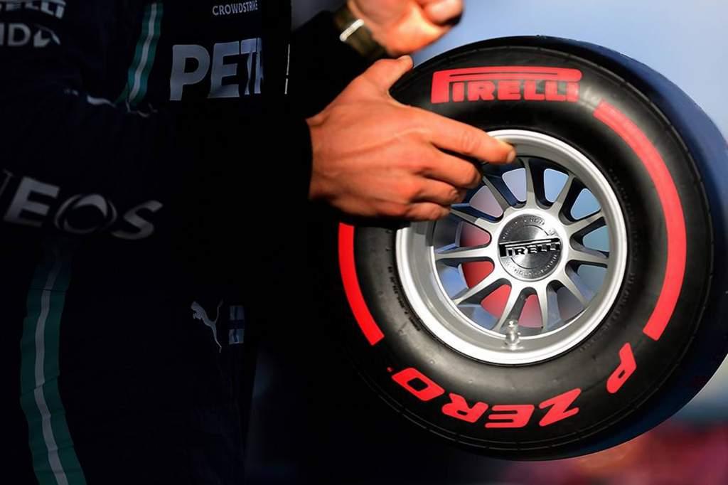 Pirelli Wind Tunnel Tyre Red 7 J3o6 Ga
