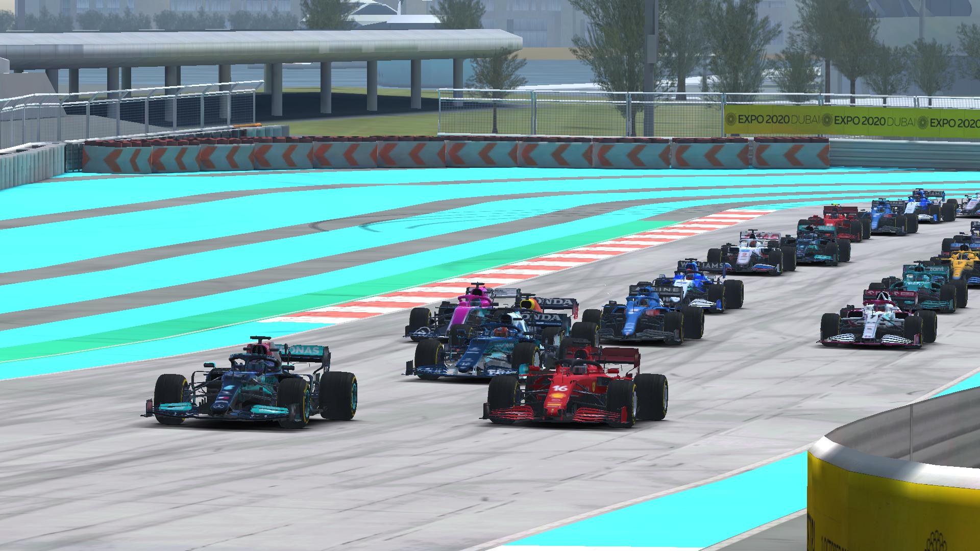 Real Racing 3 F1 Esports Abu Dhabi Pic