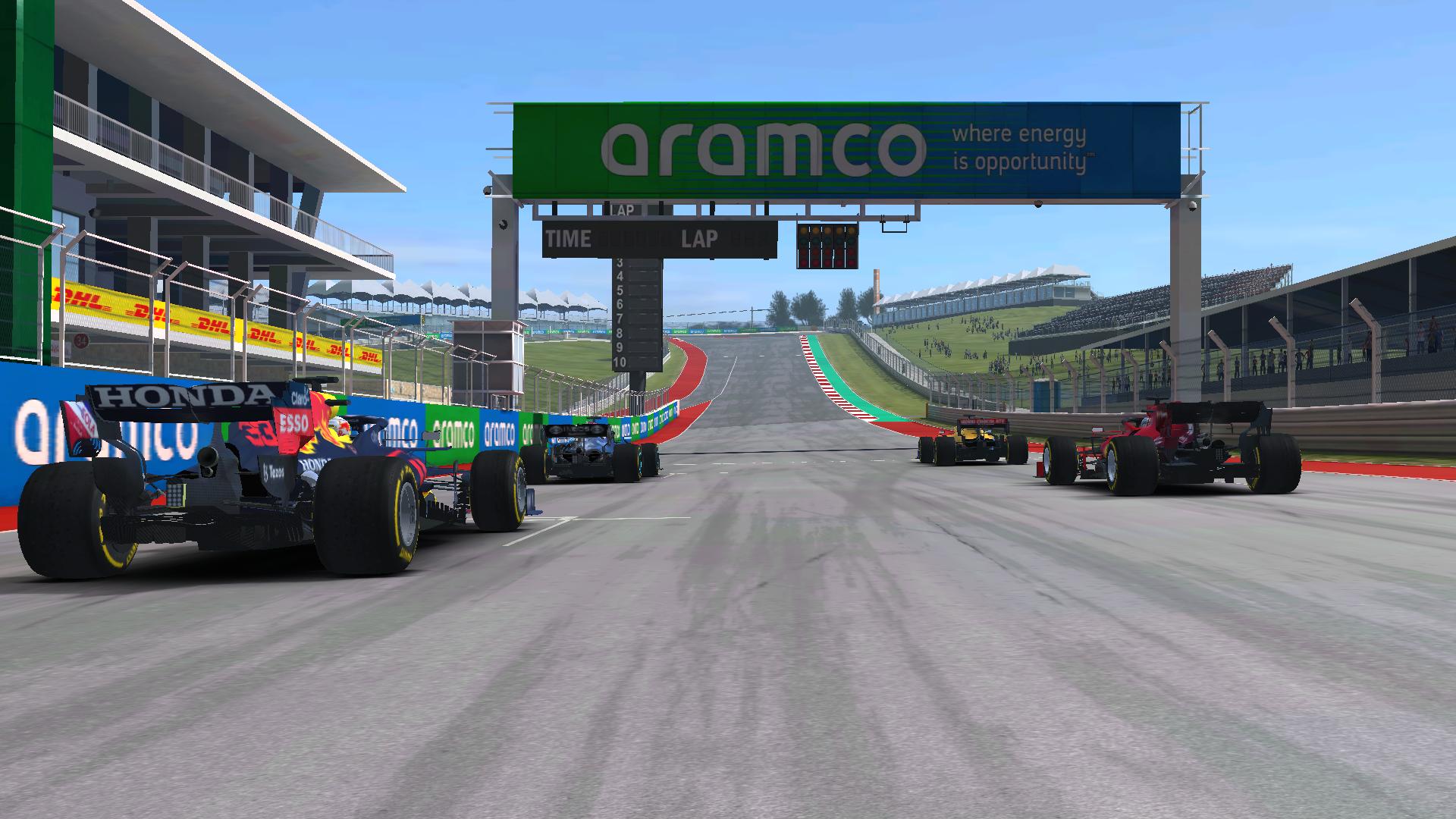 Real Racing 3 F1 Esports Cota Pic 1
