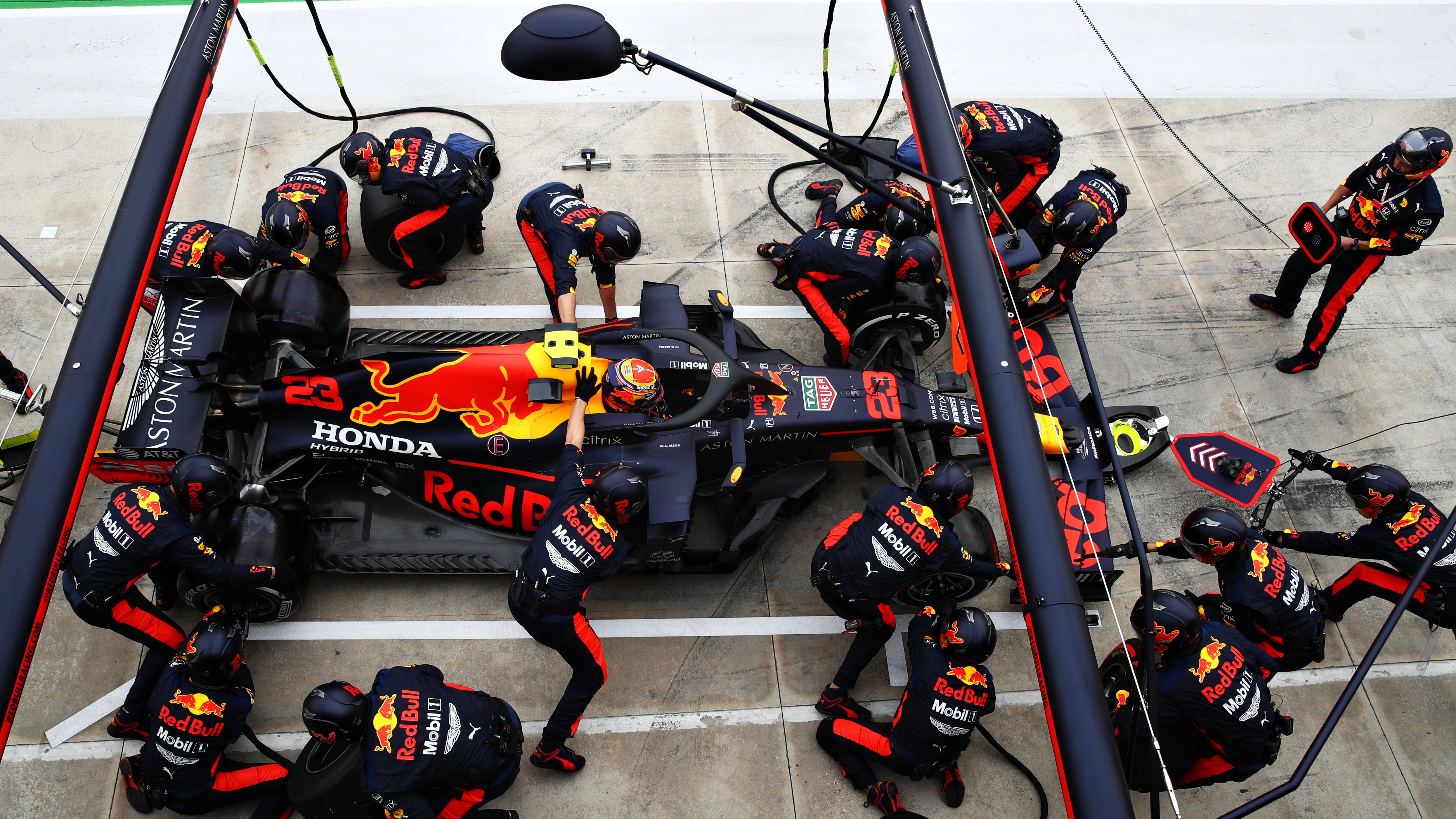 Alex Albon Red Bull Imola 2020