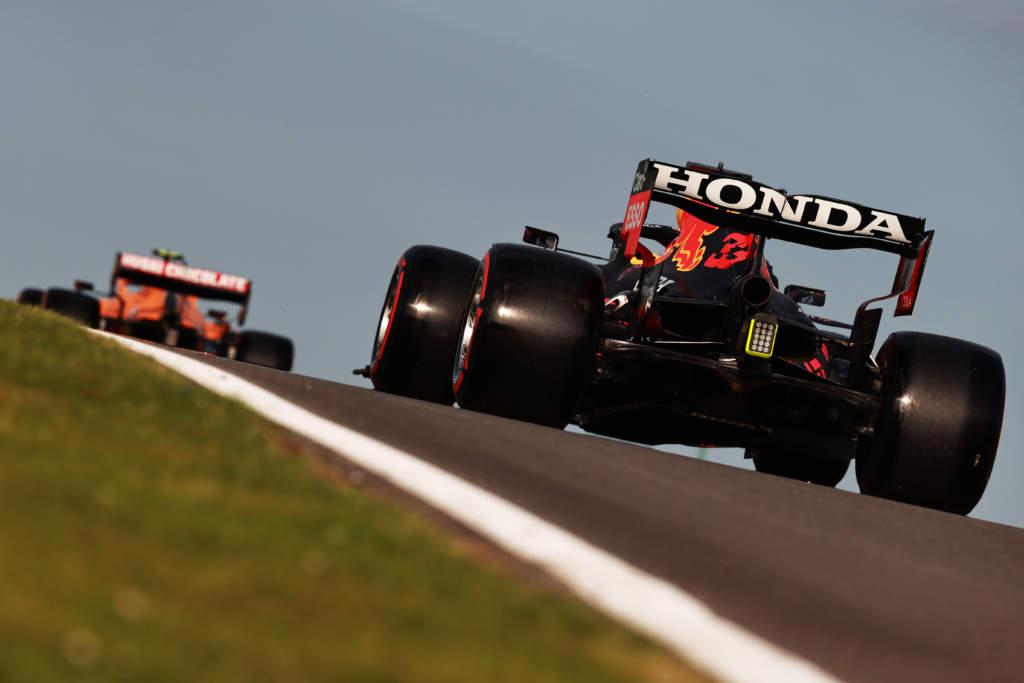 Max Verstappen Red Bull F1 McLaren