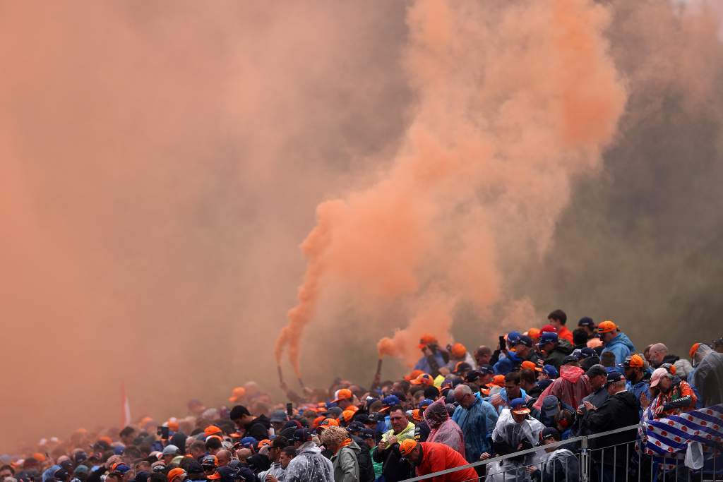 Belgian GP F1 fans