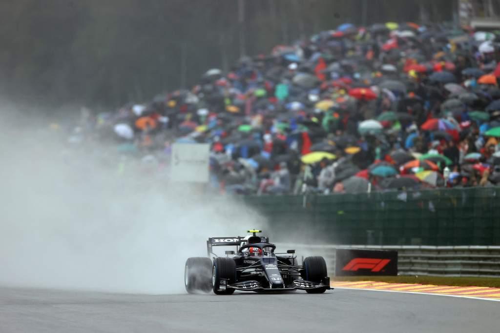 F1 Belgian GP Pierre Gasly AlphaTauri