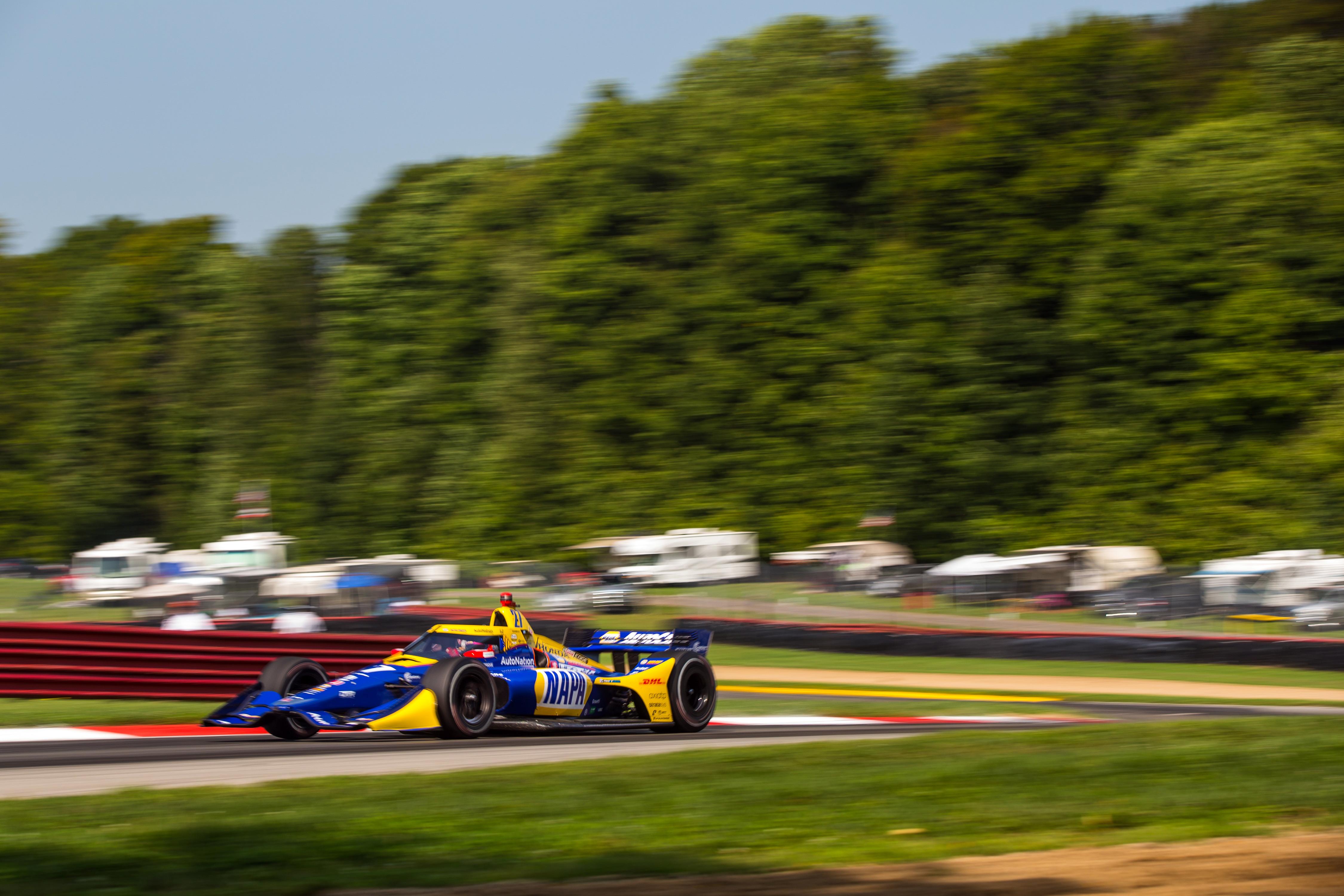 Alexander Rossi Mid-Ohio IndyCar 2020