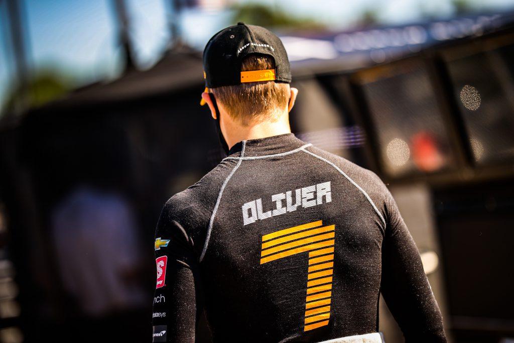 Oliver Askew Arrow McLaren SP