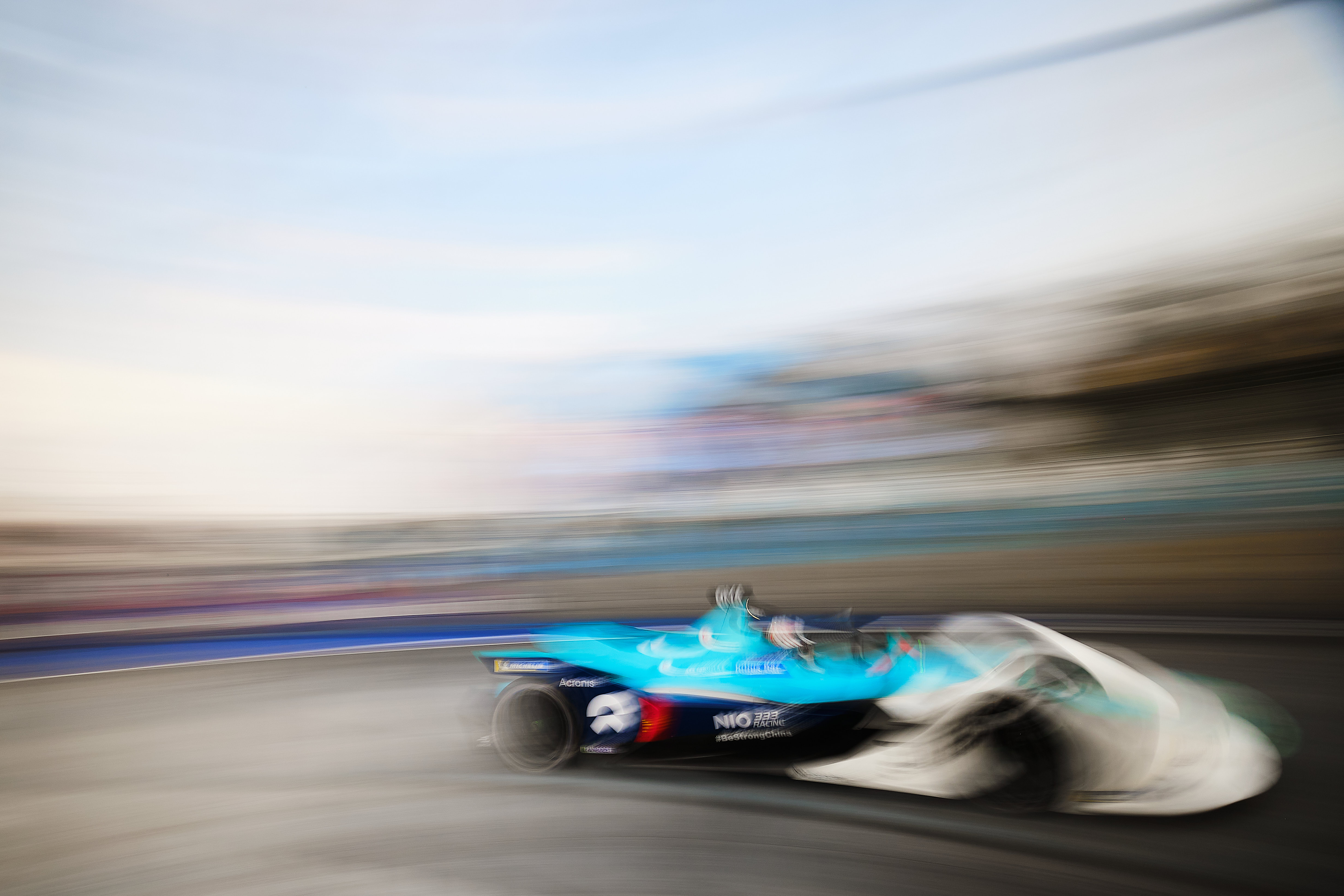 Ma Qing Hua NIO333 Mexico City Formula E 2020