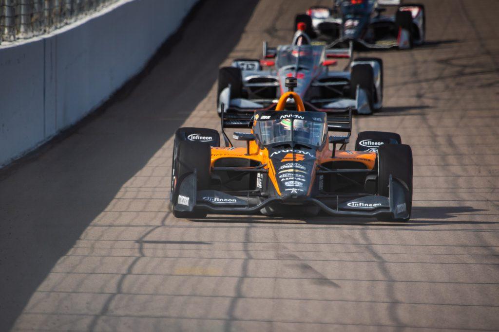 Patricio O'Ward Arrow McLaren SP Gateway IndyCar 2020
