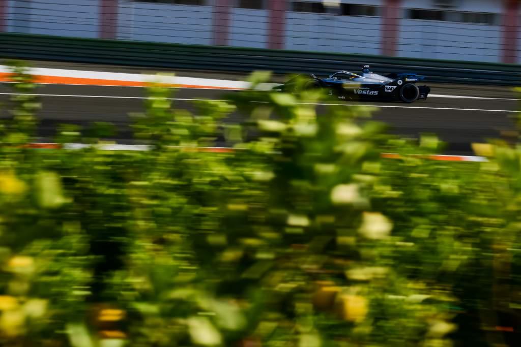 Stoffel Vandoorne Mercedes Valencia Formula E test 2020