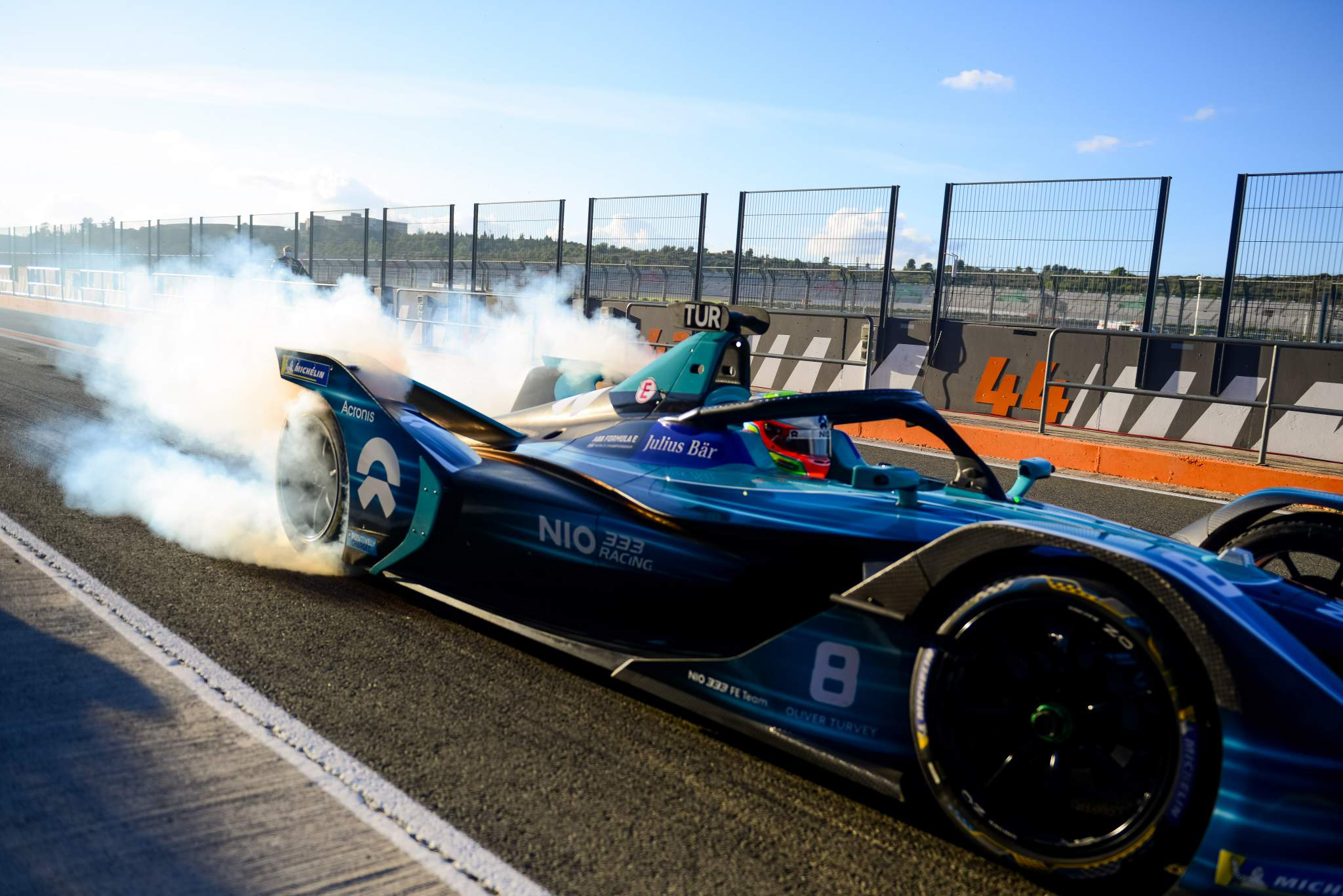 Oliver Turvey NIO333 Valencia Formula E testing 2020