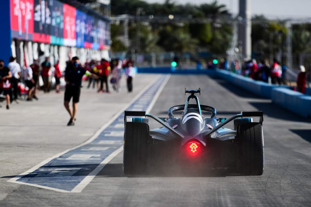 Tom Blomqvist NIO333 Diriyah Formula E 2021