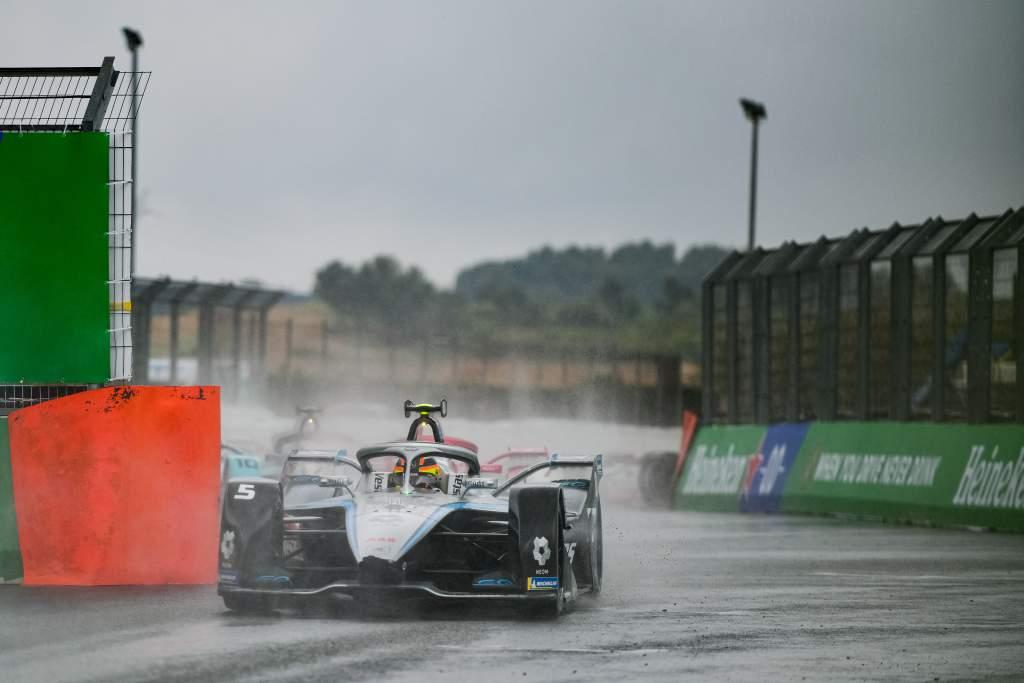 Stoffel Vandoorne Mercedes Valencia Formula E 2021
