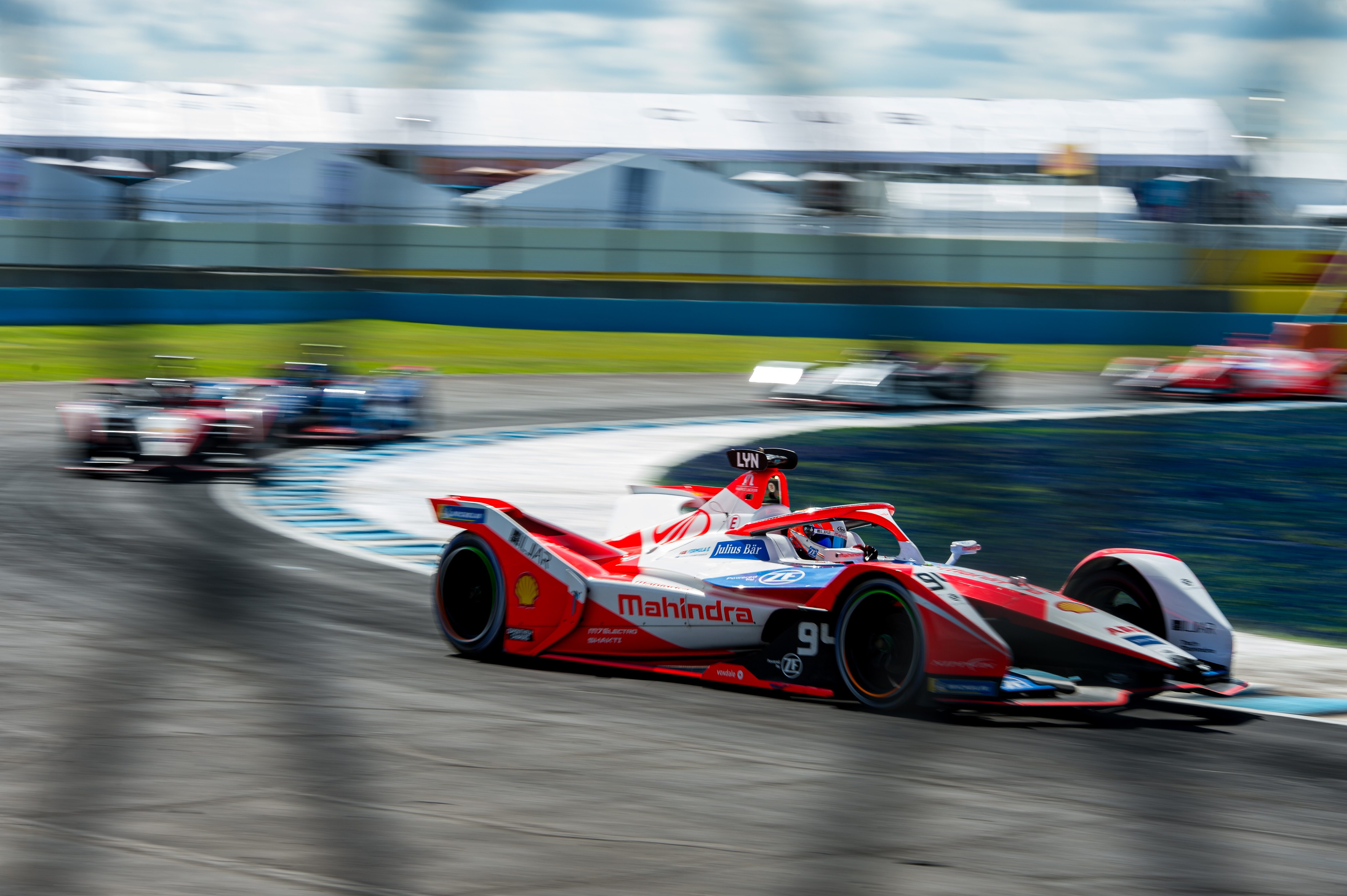 Alex Lynn Mahindra Puebla Formula E 2021