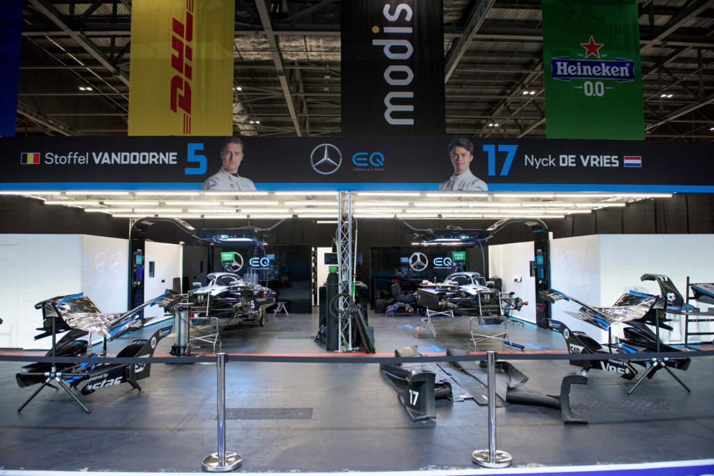 Formula E London E Prix 2021 Mercedes