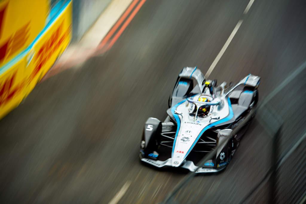Stoffel Vandoorne Formula E Mercedes