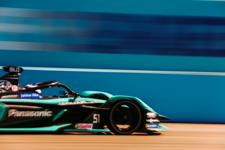 Tom Blomqvist Jaguar Berlin Formula E 2020