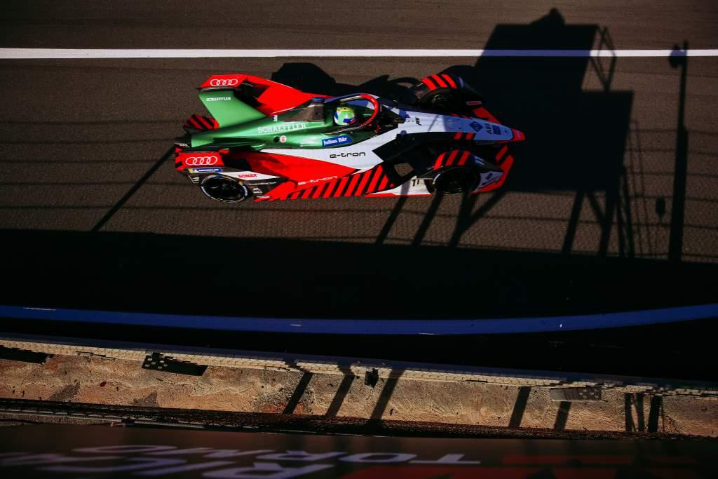 Lucas di Grassi Audi Valencia Formula E test 2020