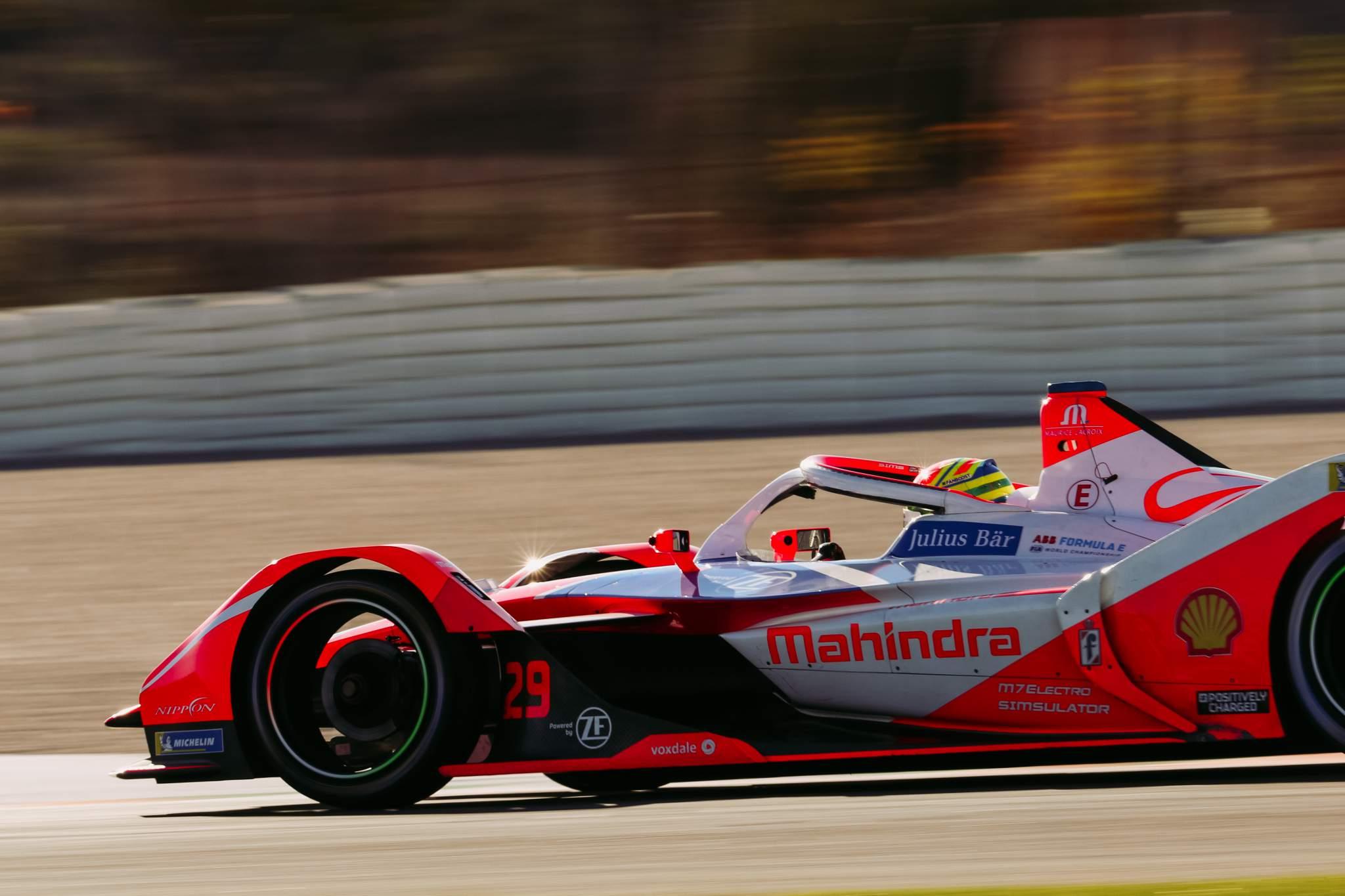 Alexander Sims Mahindra Valencia Formula E testing 2020