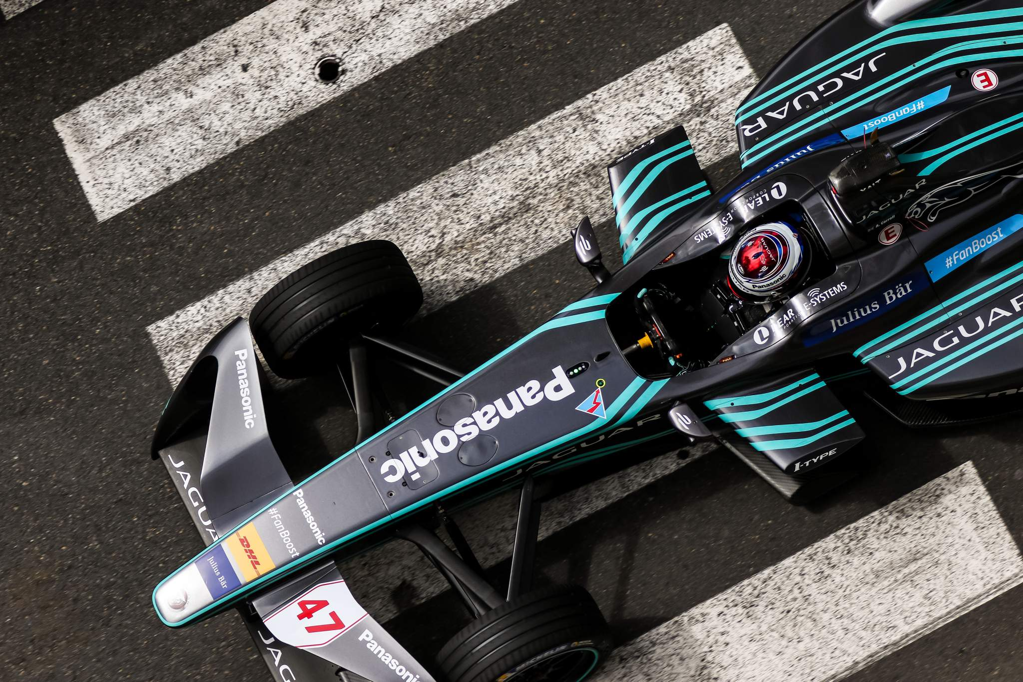 Adam Carroll Jaguar Formula E 2016